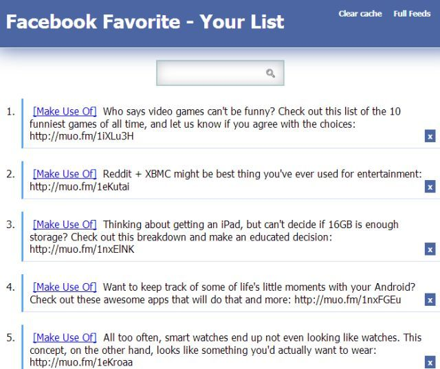 facebook favorite for chrome is a private way to save posts for later