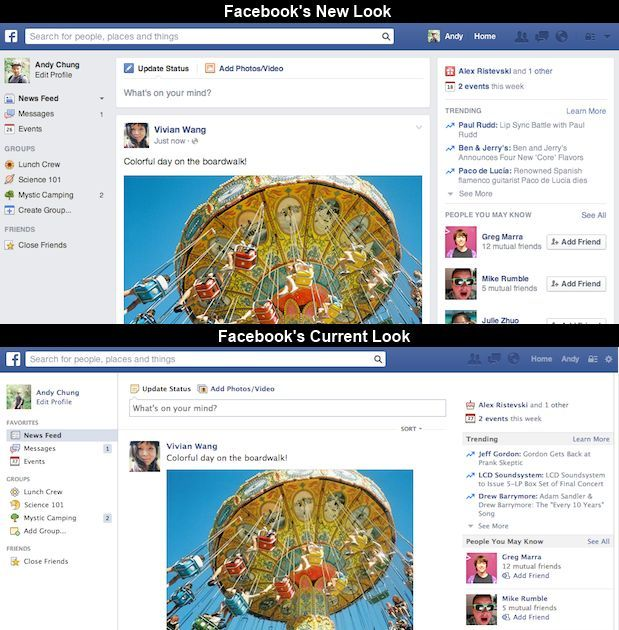 Facebook-Redesign-News-Feed-Old-Look-New-Look-Comparison
