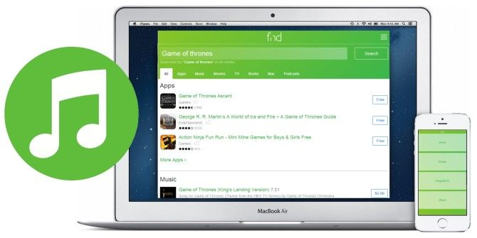 Browse & Search All Parts of the iTunes Store Quickly With Fnd.io