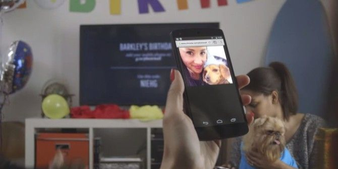 Google Launches Photowall For Chromecast To Share Images On TV
