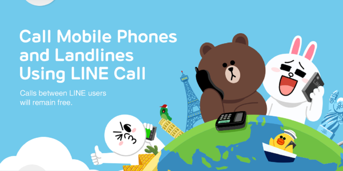 LINE Call For Android Launches In 8 Countries With Cheap International Calls