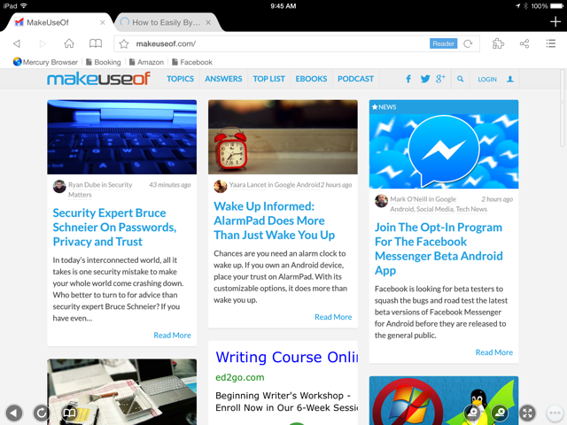iPad Browsers Compared: Which Is Best?
