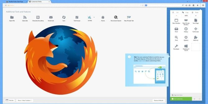 Firefox Beta 29 Features Customizable Auralis Redesign, Encrypted Sync