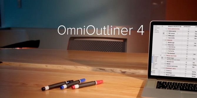 Brainstorm, Manage & Present Outlines With Style Using OmniOutliner 4