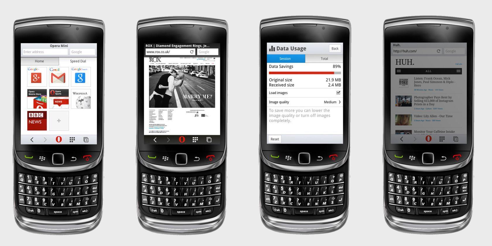 Opera Mini 8 Redesign Brings Private Browsing For Java & BlackBerry Phones