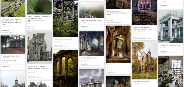 Pinterest Abandoned Places