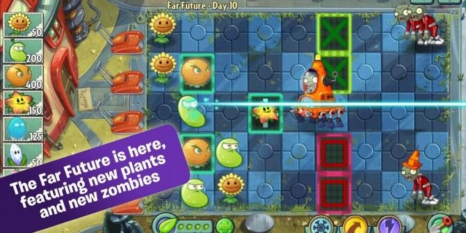Plants vs Zombies 2 Updated With Far Future World, Zen Garden & New Plants