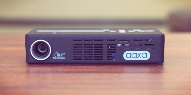 AAXA P4X Pico Pocket Projector Review and Giveaway