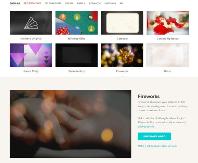 animoto-themes
