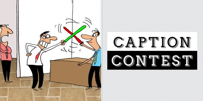Caption Contest: Saber Duel