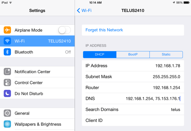 Bypass Georestrictions By Changing Your Smartphone's DNS Settings change dns server on iphone or ipad ios 7