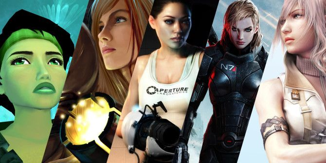 Where Are All Of The Video Games Featuring Female Protagonists?