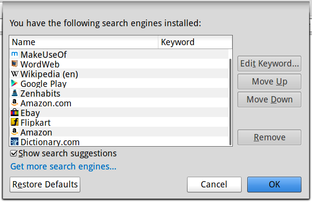 installed-search-engines