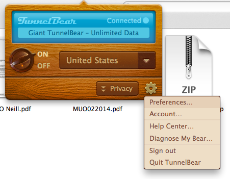 Filter Your VPN Tunnels With Tunnelbear's Intellibear intellibear2
