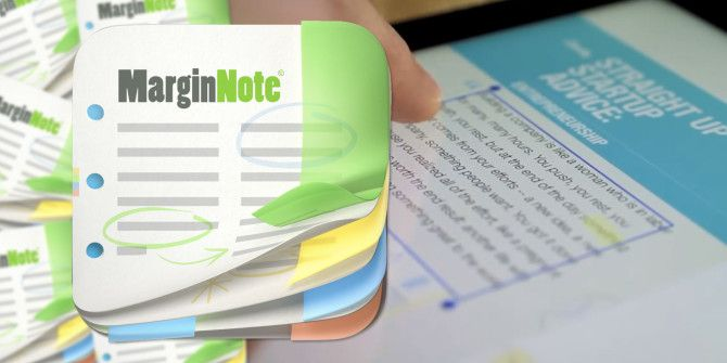 MarginNote Offers Unique Approach To Annotating & Reviewing Documents