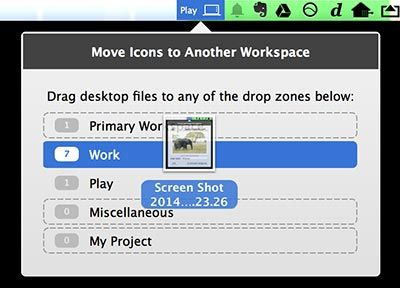 Use SaneDesk To Make Your Mac Desktop Productive Again move