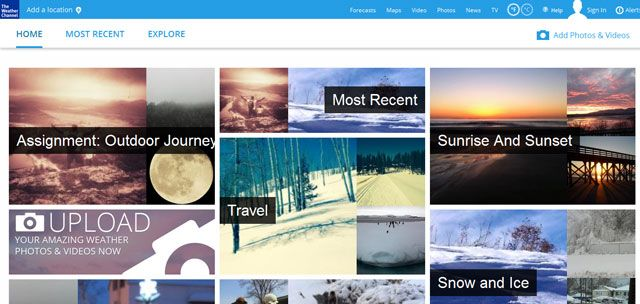 Weather Channel - Submit photos & videos