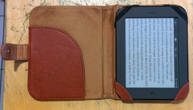 nook simple touch with travel case
