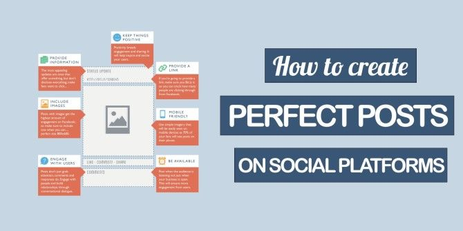 How To Create Perfect Posts For Every Social Platform