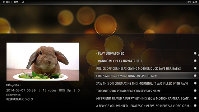 Make TV More Social With These XBMC Add-Ons reddit xbmc aww