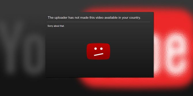 How to Easily Bypass YouTube's Regional Filter