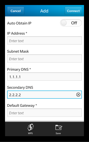 Bypass Georestrictions By Changing Your Smartphone's DNS Settings set dns server on blackberry 10 phone
