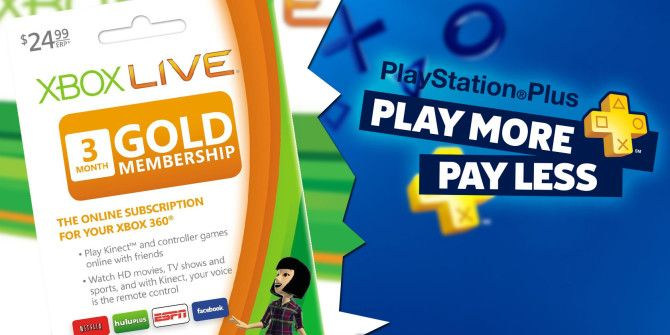 Xbox Live vs. PlayStation Plus: What Do You Get With Each?