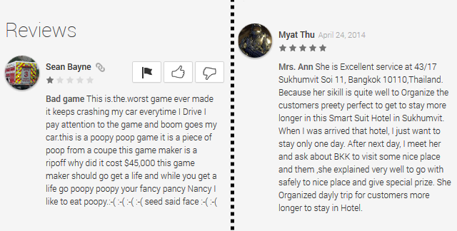 Google-Play-Nonsense-Reviews