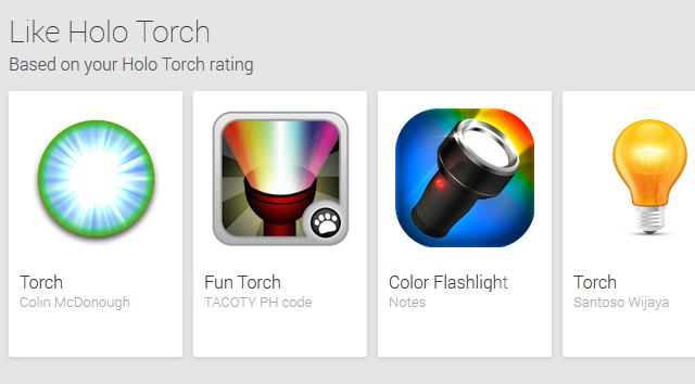 Google-Play-Flashlight-Recommendations