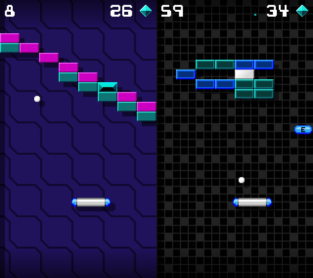 Breakfinity & Ringgz Give New Life To The Classic Brick Breaker Breakfinity for iOS Energy power up demo