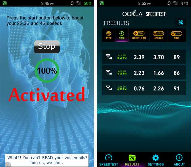 8 Android Net Boosters Tested: Real Or Placebo? You'd Be