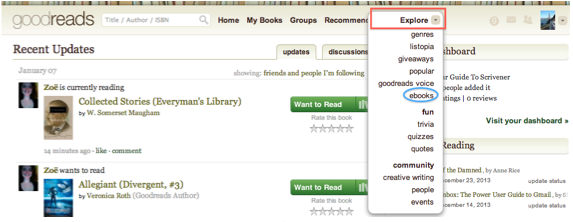 An Unofficial Guide to Goodreads for Readers and Writers Goodreads 3