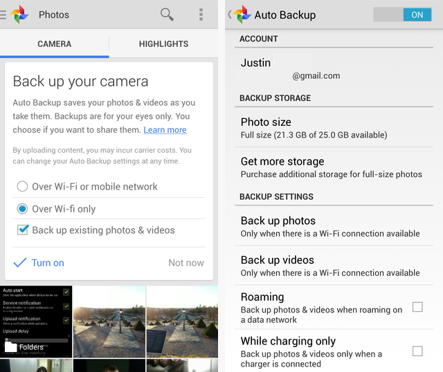 Google+ Photo Backup