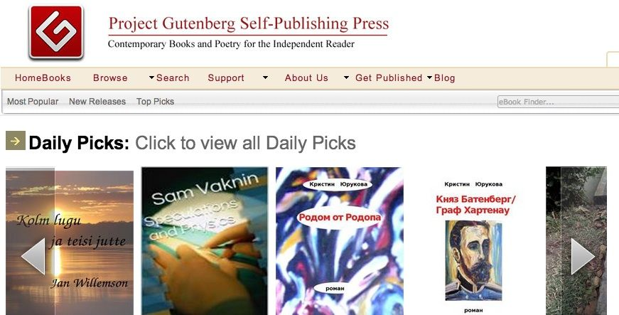 Project Gutenberg: More Than Just Free Books Gutenberg 26