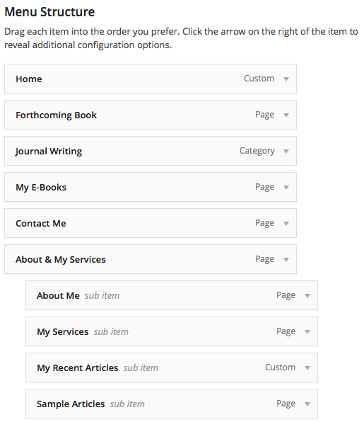 WordPress_menu_2