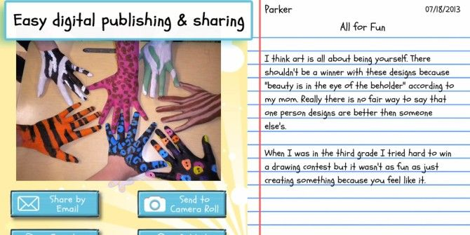 Help Your Child Get Started Writing With Write About This for iPad