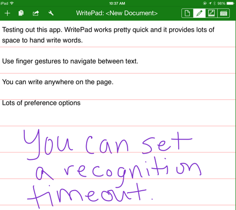 WritePad_notes