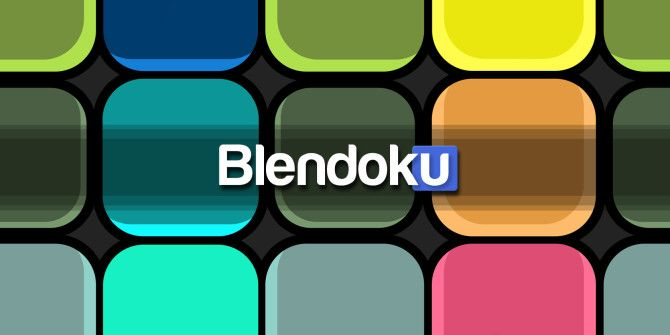 What Happens When You Mix Colors With Sudoku? Blendoku