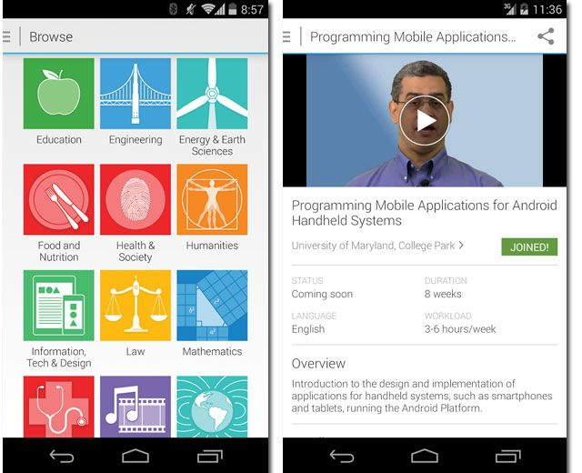 Coursera for Android