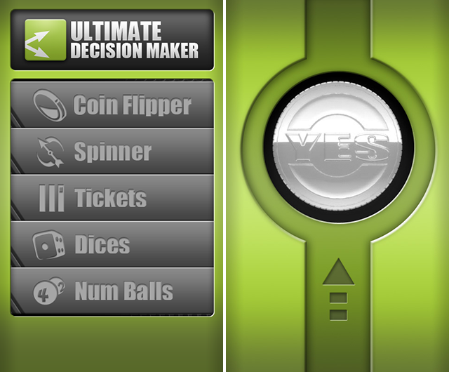 Indecisive? Make The Right Choices With These Apps decision making apps ultimate decision maker