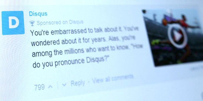 Disqus Commenting Platform Introduces Sponsored Comments