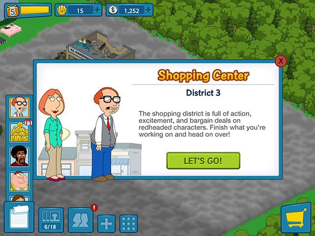 Family Guy: The Quest for Stuff – Essential Fan Service or Free To Play Lunacy? districts