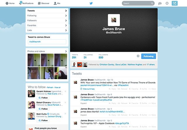 Twitter's New Profiles Are Here: Make Use Of Them! oldtwitter2012