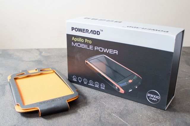 Poweradd Apollo Pro 23,000mAh Solar Battery and Charger Review and Giveaway poweradd apollo pro 23000 solar battery pack review 1