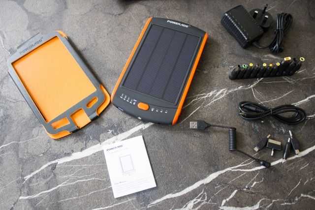 Poweradd Apollo Pro 23,000mAh Solar Battery and Charger Review and Giveaway poweradd apollo pro 23000 solar battery pack review 4