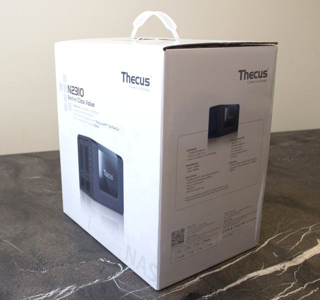 thecus n2310 nas review