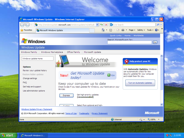 windows-update-on-windows-xp