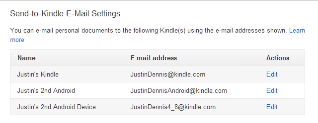 Amazon-Send-To-Kindle-Settings