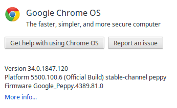 Google Chrome OS Latest