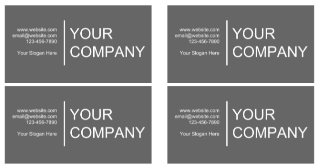 Free business card templates google docs vatozozdevelopment free business card templates google docs reheart Image collections